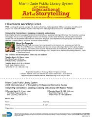 Miami‑Dade Public Library System - The Parent Academy