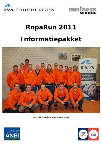 Download hier het sponsorplan voor bedrijven - IVA Driebergen