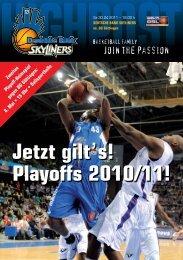 Playoffs 2010/11! - Fraport Skyliners