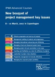New bouquet of project management key issues