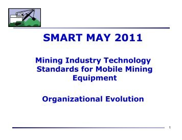 SMART MAY 2011 - Surface Mining Association for Research and ...