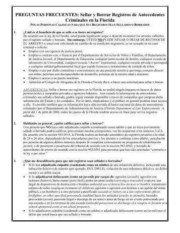 Sellar y Borrar Registros - Miami Dade County Public Defender ...