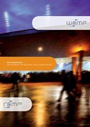 Broschüre MA Sponsoring - WEMF AG für Werbemedienforschung