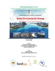 Global Environmental Change Challenges and Innovations