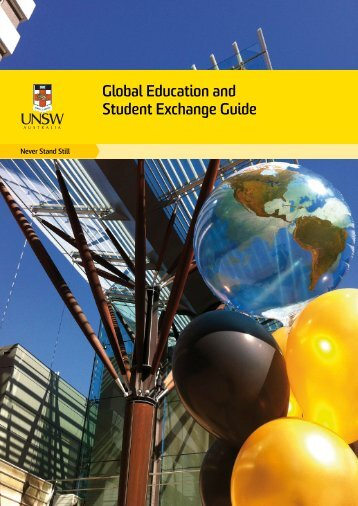 Global Education and Student Exchange Guide - UNSW International