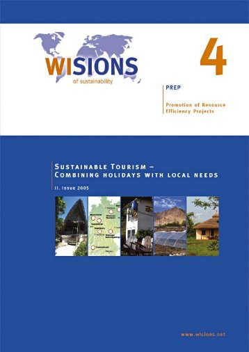 PREP 04 Sustainable Tourism - WISIONS of Sustainability