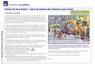 Checkliste sicherer Schulweg - Das PLUS von AXA
