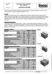 LIAPOR M 365/2/600
