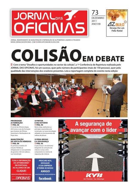 Jornal das Oficinas 073 - Dezembro 2011