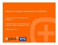 ILI Performance Verification and Validation - Business Review ...