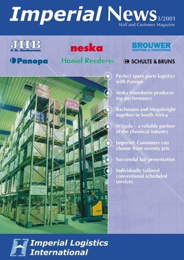 Perfect spare parts logistics with Panopa neska Mannheim produces ...