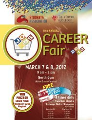 2012 Career Fair Guide - Red River College