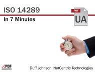 Duff Johnson - PDF Association