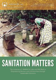 WE: Sanitation