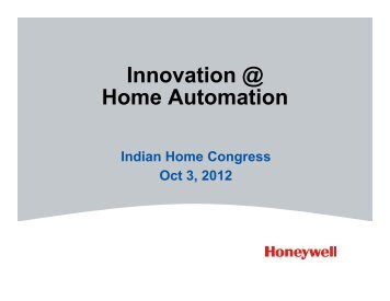 Innovation @ Home Automation - Franchise India