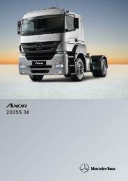 Axor 2035 S/36 - Mercedes Benz