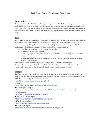 TJMS  th Grade World Religions Webquest Ancient Rome   Webquest with Key  Roman Empire    This    page document contains
