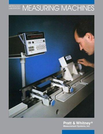 MEASURING MACHINES - Pratt & Whitney