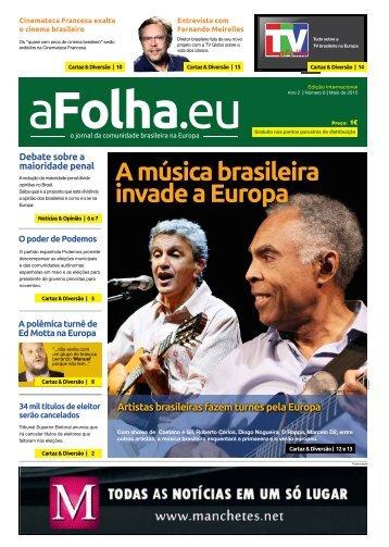 aFolha.eu - Ano 2 - Número 08 - Maio 2015