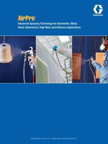 Graco AirPro Spray Gun pdf Downlao - CH Reed Inc.