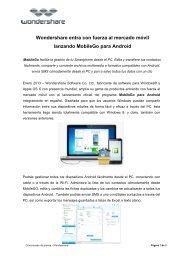 MobileGo para Android - Wondershare