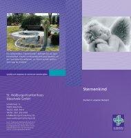 Broschüre Sternenkinder - St. Walburga-Krankenhaus Meschede