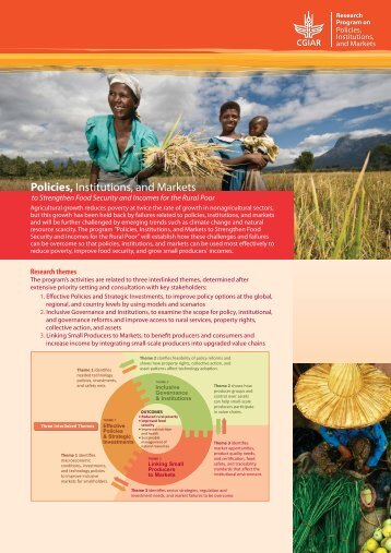 CGIAR Research Program on Policies, Institutions ... - Library - cgiar