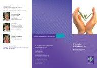 Broschüre Ethikkomitee - St. Walburga-Krankenhaus Meschede