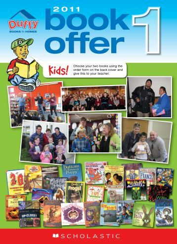 Book Offer - Duffy Books In Homes