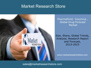 Market PharmaPoint: Insomnia , Global Drug Forecast and Market Analysis to 2023