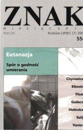 Nr 554, lipiec 2001 - Znak