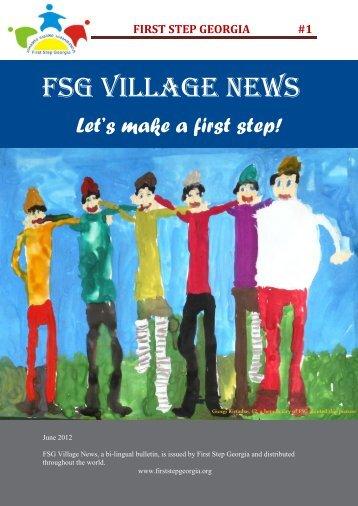 The Village News - First Step Georgia