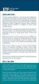 ETF czyli kup sobie indeks WIG20 - GPW - Page 2