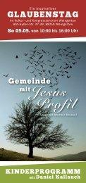 mitJesus Profil - Freie Christengemeinde Stockach