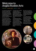 Anglia Ruskin What's On Arts Summer 2015  - Page 3