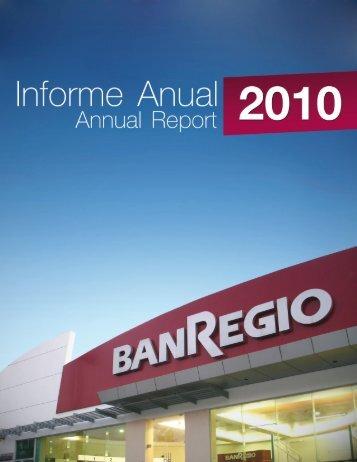 Informe Anual 2010 - BanRegio