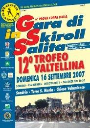 Coppa Italia - 12° Trofeo Valtellina - Skiroll.it