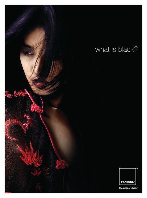 what is black? - Pantone