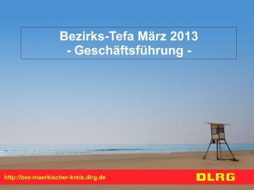 Präsentation - DLRG - Bezirk Märkischer Kreis