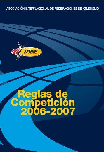 Manual IAAF 2006 - 2007