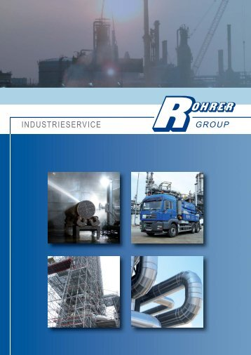 INDUSTRIESERVICE - Rohrer Group