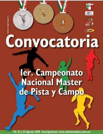 convocatoria nacional masters 2010