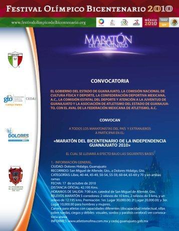 CONVOCATORIA Bicentenario