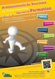 Flyer Formation - Le site dédié aux acteurs du tourisme en Poitou ...