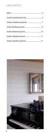 Maalilinja neuvoo - opas 2 sisäseinät - Tikkurila - Page 2