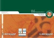 Dunlop Roland Garros - Fédération Française de Tennis