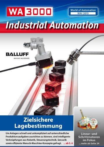 WA3000 Industrial Automation Mai 2015