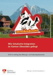 Wie Schulische Integration im Kanton Obwalden gelingt