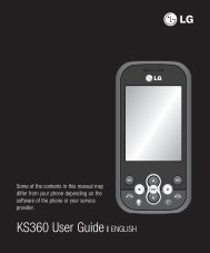 KS360 User Guide - virginmobile.com