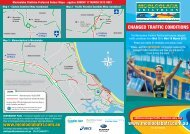Changed Traffic Conditions flyer - USM Events